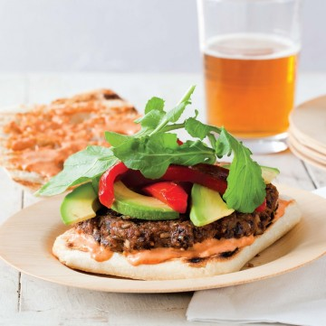 ultimate-sriracha-veggie-burger-recipe-vegan